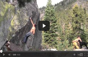 Tahoe Basin Bouldering; Sugar 2, Sugar Pine, Lake Tahoe, Ca Pt2
