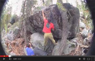 Tahoe Basin Bouldering; Sugar 2, Sugar Pine, Lake Tahoe, Ca Pt1
