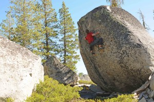 "Roman Yalowitz on the FA of ""The Tuolumne Shield"" v9."